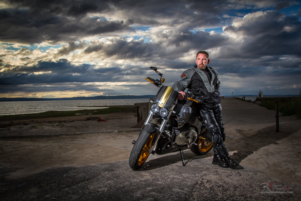 motorcycle photography for  Motorcycle Photography Inverness Wedding Photographer